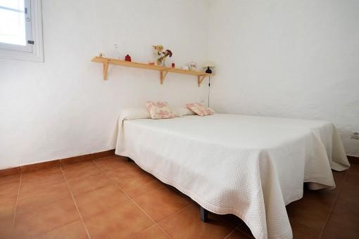 Dormitorio de la casa de invitados