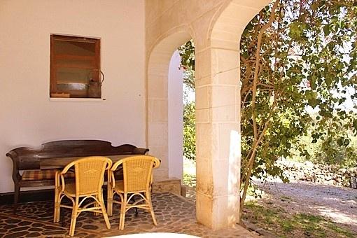 terraza cubierta con acceso directo al jardin
