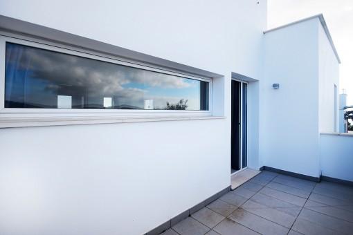 Balcón de la villa