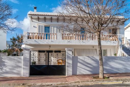 Preciosa casa familiar en una zona tranquila de Ciutadella