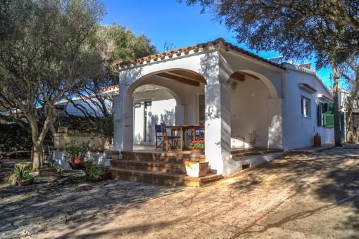 Preciosa casita con huerto, piscina y energía propia en Ciutadella