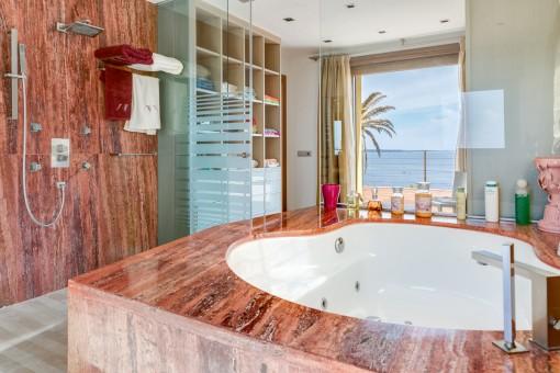 Baño en suite de este baño