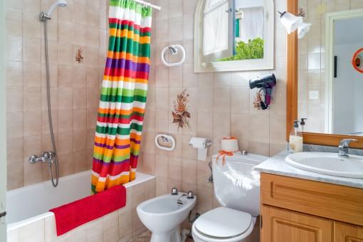 Uno de 2 baños