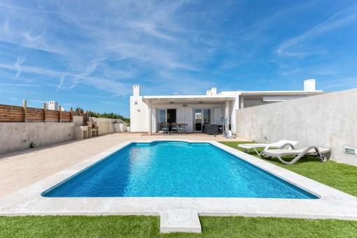 Fabulosa casa con piscina en Cala Llonga