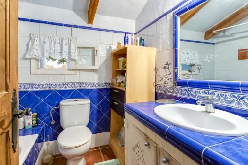 Baño de la casa de huéspedes