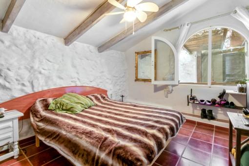 Dormitorio de la casa de huéspedes