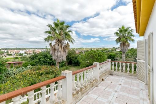 Balcón con vistas a Alaior