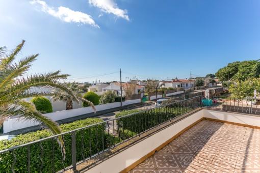 Balcón con vistas panorámicas