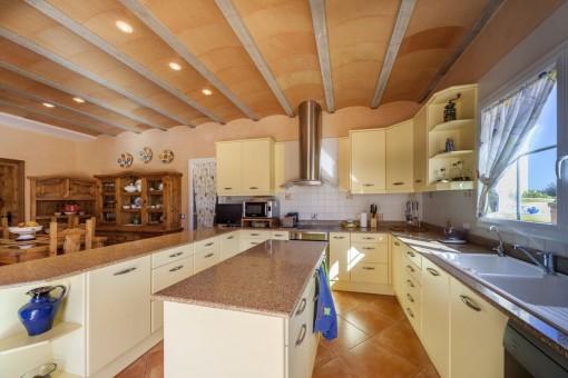 Gran cocina totalmente equipada