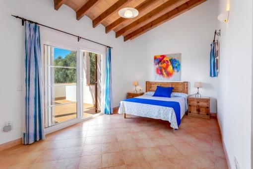 Dormitorio con azotea