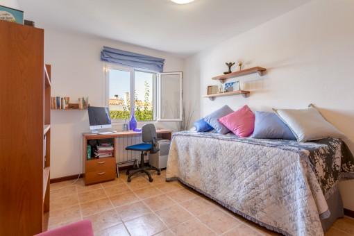 Dormitorio separado de huéspedes