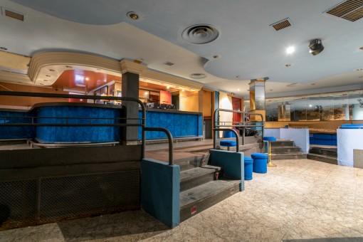 Vistas de l'área de bar