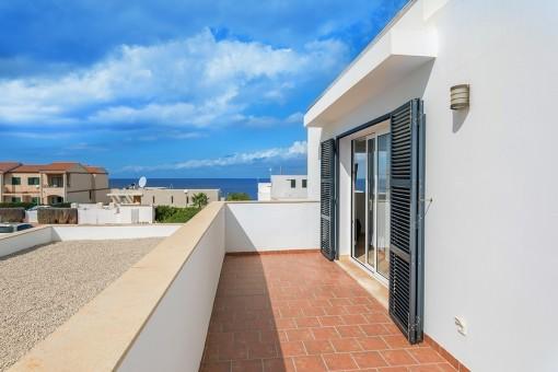 Balcón con preciosas vistas al mar