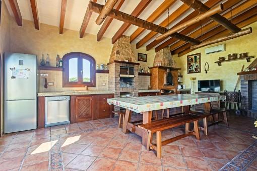 Segunda cocina del propiedad