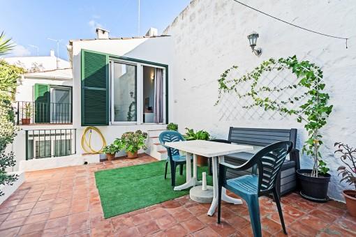 Elegante casa reformada con patio en Alaior