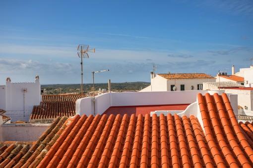 Para reformar: Casa en el centro histórico de Alaior con vistas al mar, al Monte Toro y a los alrededores