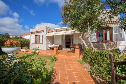 Chalet tranquilo en S'Algar con jardín y terraza